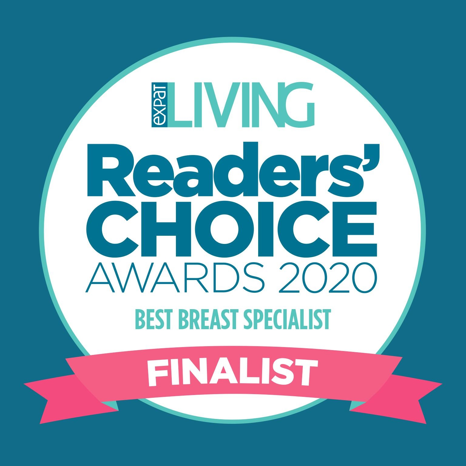We're a Finalist in Expat Living's Readers' Choice Awards 2020!